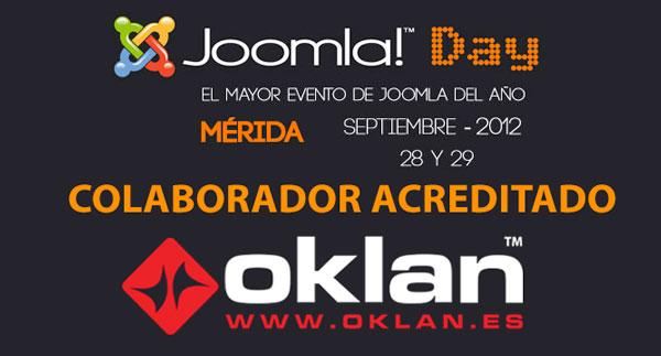 Oklan en Joomladay 2012
