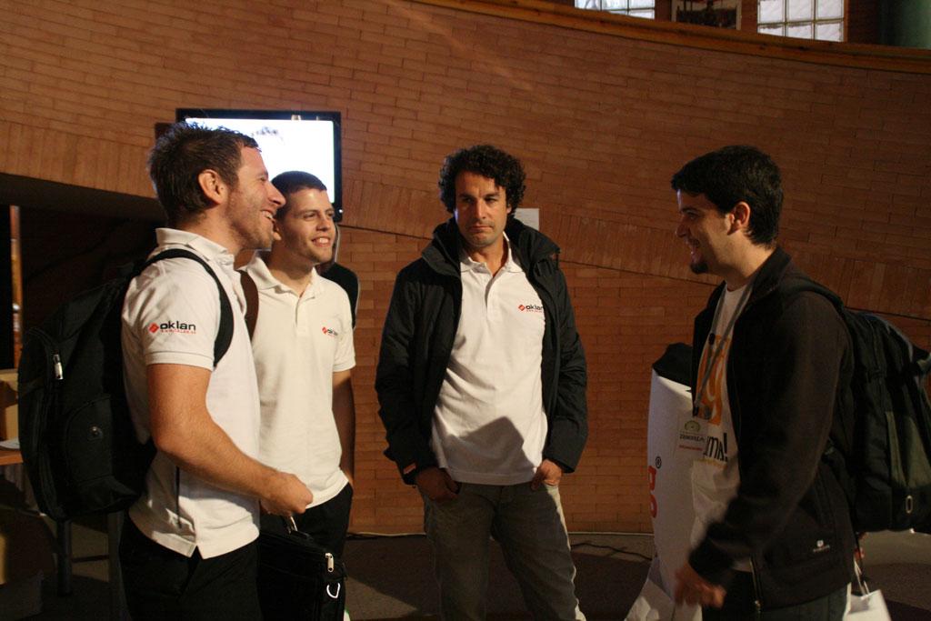 Oklan en el evento JoomlaDay 2012 España