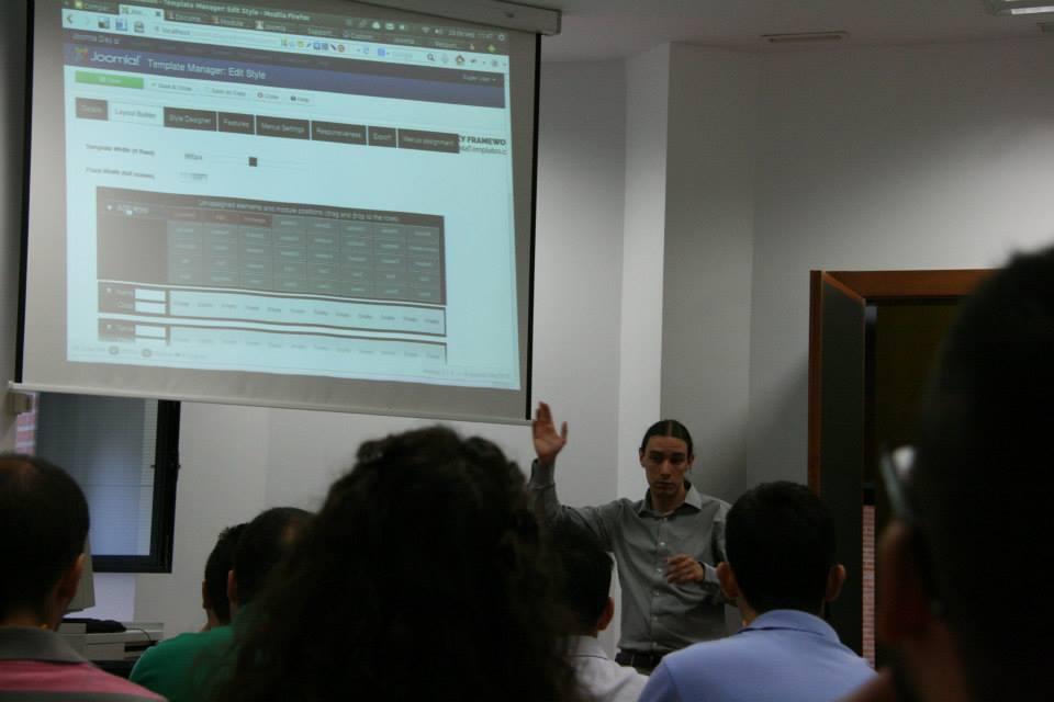 Pablo Arias nos enseña nuevos frameworks para Joomla!