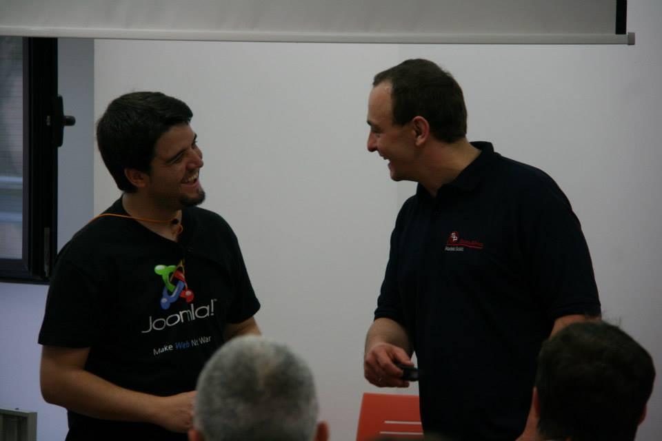 Dos expertos en SobiPro mano a mano: el maestro Radek Suskin y el discípulo aventajado Isidro Baquero
