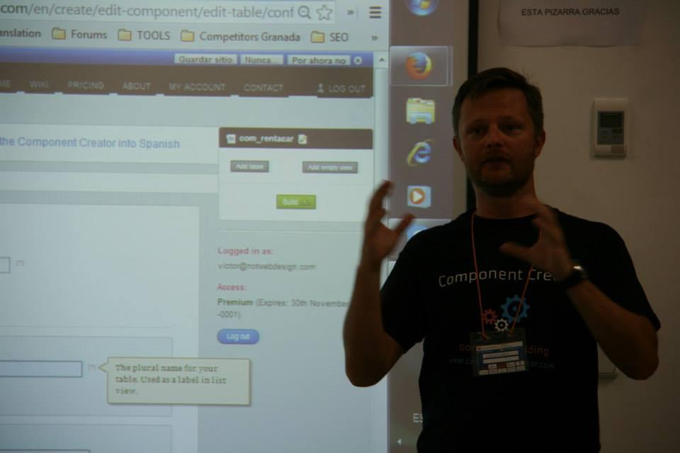 Soren Beck Jensen nos descubre algunas claves sobre Component Creator