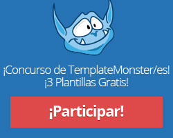 Consigue tu plantilla gratis con Template Monster