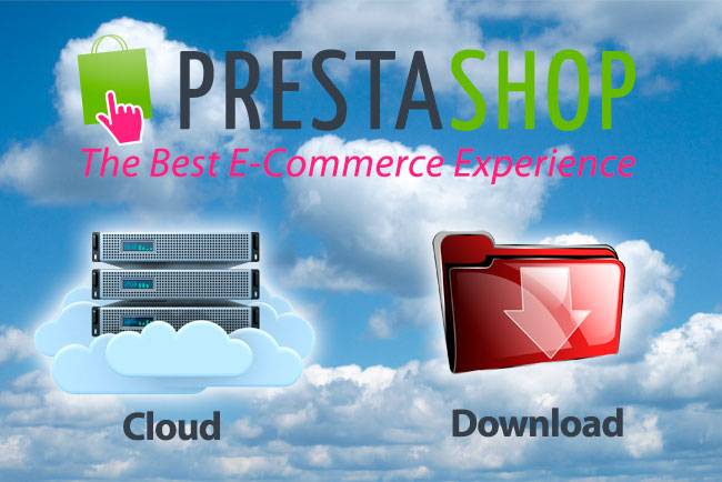 Prestashop Cloud y Prestashop Download