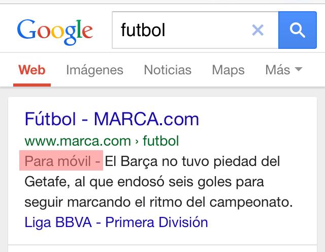 Para Móvil Google